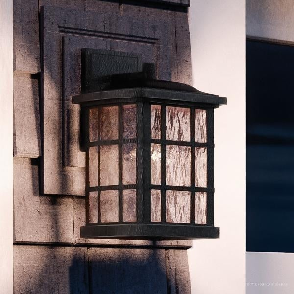 Shop Luxury Craftsman Outdoor Wall Light 13 Quot H X 8 Quot W With