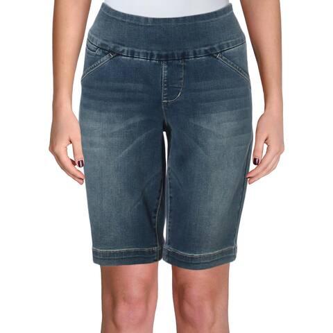 Jag Jeans Womens Shorts Denim Bermuda
