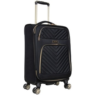 Link to Kenneth Cole Reaction 'Chelsea' 20-Inch Chevron Quilted Expandable 8-Wheel Spinner Carry On Suitcase Similar Items in Luggage Sets