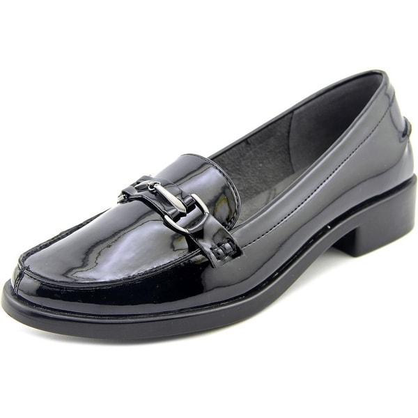 Aerosoles Stylish Women Round Toe Synthetic Black Loafer