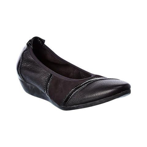 Arche Onyzan Leather Flat