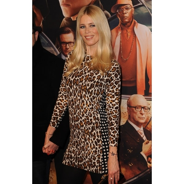 2786479b562 Shop Claudia Schiffer At Arrivals For Kingsman The Secret Service Premiere  The School Of Visual Arts Theatre New York Ny February 9 2 - Free Shipping  On ...