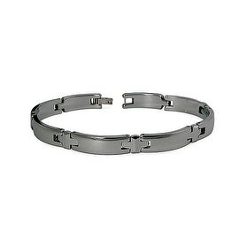Tungsten Men's Link Bracelet - 8.75 Inches