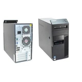 "Lenovo M90 TWR i5-650 3.2 6GB 1TB DVD W10H With 22"" LCD Refurbished"