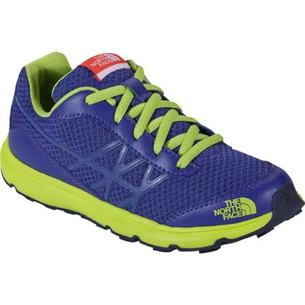 f1d121277 Shop The North Face Boys' Ultra Cosmic Blue/Safety Green - Free ...