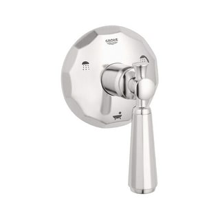 Grohe 19 272 Kensington 3-Port Diverter Valve Trim Only with Lever Handle
