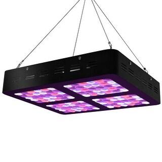 Costway 600W LED Grow Light Plants Lamp Full Spectrum For Indoor Plants Veg Flower Bloom