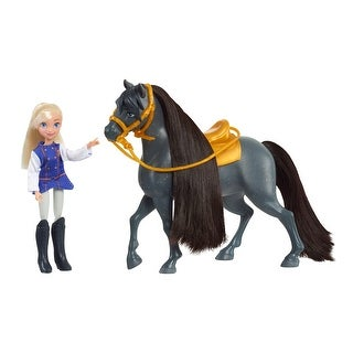 Link to DreamWorks Spirit Riding Free Collector Doll & Horse - Bessie & Sarge Similar Items in Dolls & Dollhouses