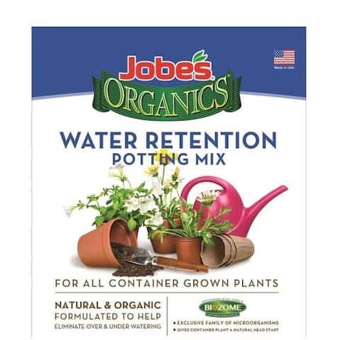 Easy Gardener 08748 Jobes Water Retaining Potting Mix, 8 Quart