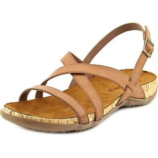 Bearpaw Hazel Open-Toe Synthetic Slingback Sandal