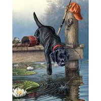 """Ripples - Paint By Number Kit Artist's Collection 9""""X12"""""""