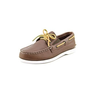 Sperry Top Sider A/O Gore Moc Toe Leather Boat Shoe