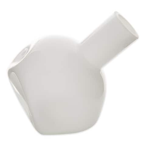 Popular White Abstract Vase