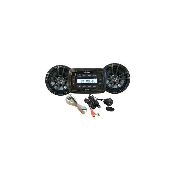 JBL Infinity INF-MPK250 Marine Digital Media Receiver & speakers package