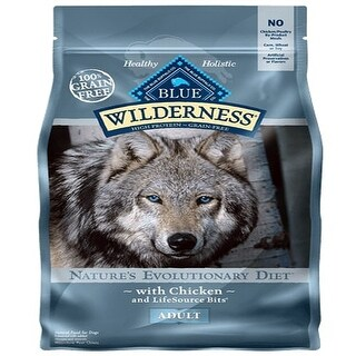 Link to Blue Buffalo Dog Wilderness  Grain-Free  Chicken  11 Lbs. - 11 lbs Similar Items in Dog Food & Treats
