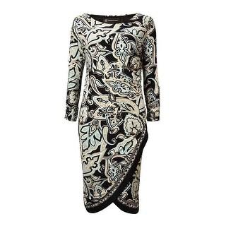 INC International Concepts Women's Tulip-Hem Dress