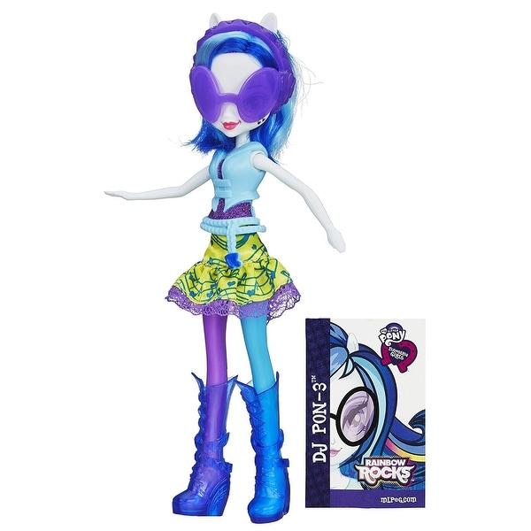 My Little Pony Equestria Girls Rainbow Rocks DJ PON-3 Doll. Opens flyout.