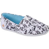Skechers Women's BOBS Plush Zen Kitty Alpargata White