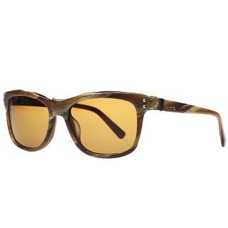 Valentino V 653/S 259 Cognac Wayfarer Sunglasses