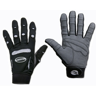 Bionic Women's Full Finger Fitness Gloves - Black/White