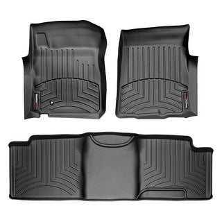 WeatherTech 44048-1-2 Black Front & Rear FloorLiner: Ford F-150 2000 - 2003 (Super Cab)