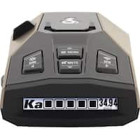 Cobra RAD 450 Laser Radar Detector: Long Range, False Alert Filter, OLED Display & Voice Alert