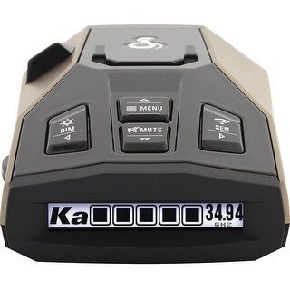 Cobra RAD 450 Radar Detector Long Range + 1 Year Extended Warranty