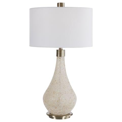 Uttermost Chaya Textured Cream Table Lamp
