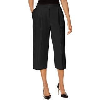 Nine West Womens Culottes Double Pleat Cropped