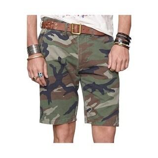 Denim and Supply Ralph Lauren Slim Fit Military Camouflage Chino Shorts 40