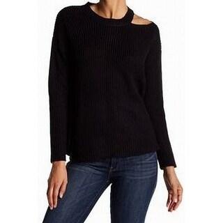 RDI Womens Medium Cutout Shoulder Pullover Sweater