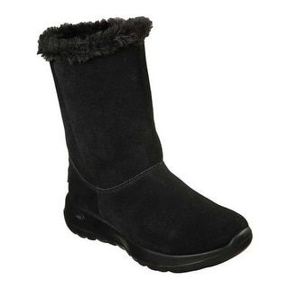 Skechers Women's On the GO Joy Winter Snow Boot Black/Black