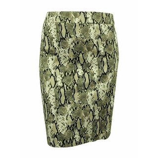 Jones New York Women's Animal Print Pencil Skirt