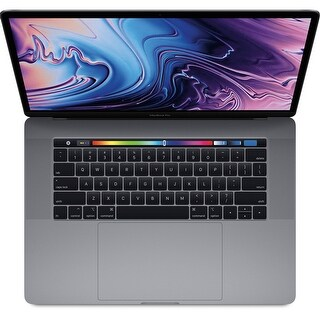 "Apple 15.4"" MacBook Pro with Touch Bar (Mid 2018, Space Gray) (Spanish Keyboard)(Newest Model)"
