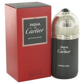 Pasha De Cartier Noire by Cartier Eau De Toilette Spray 3.3 oz - Men