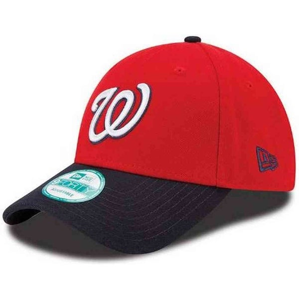 Shop New Era Washington Nationals Baseball Cap MLB League Hat 2 Tone 9Forty  10963000 - Free Shipping On Orders Over  45 - Overstock.com - 17743865 93c45f47f29