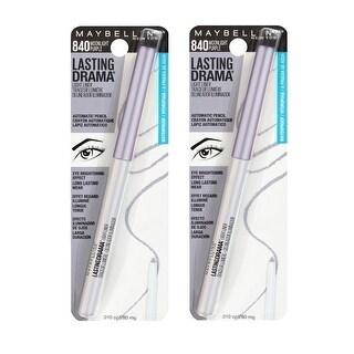 Maybelline Lasting Drama Light Liner Eyeliner, 840 Moonlight Purple (Pack of 2)