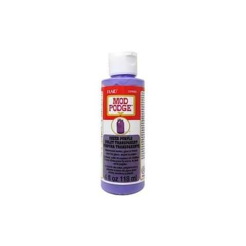 Cs15082 plaid mod podge sheer color 4oz purple