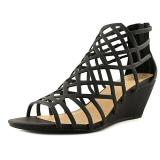 Material Girl Womens Henie Open Toe Casual Strappy Sandals