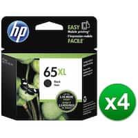HP 65XL Black Original Ink Cartridges (N9K04AN)(4-Pack)