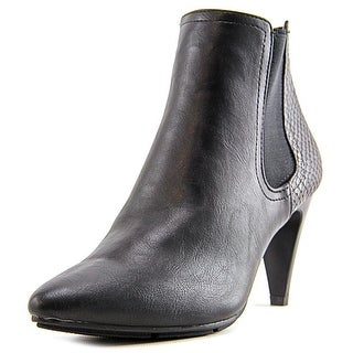 Style & Co Zoyaa Women Round Toe Synthetic Black Bootie