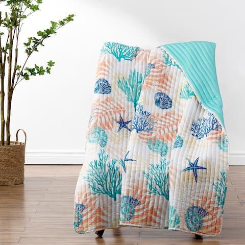Greenland Home Fashions Montego Throw Blanket