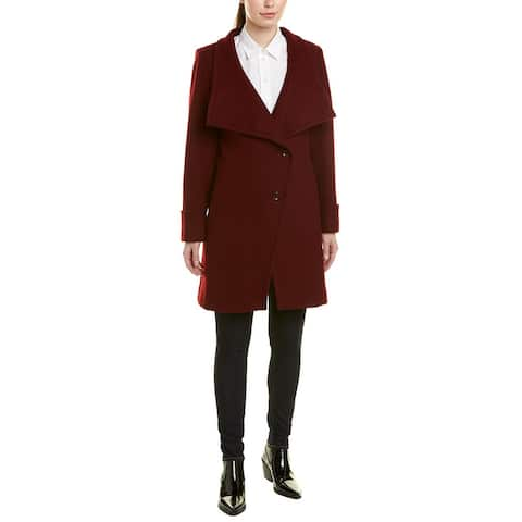 Trina By Trina Turk Fiona Wool-Blend Coat