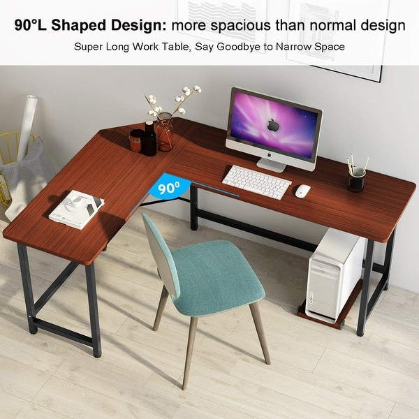 L Shaped Desk Corner Computer
