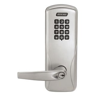 Schlage CO-200-CY-70-KP-ATH CO-Series Commercial Electronic Cylindrical Lock with Keypad and Athens Lever