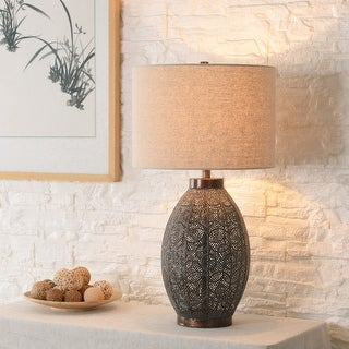 Link to Bobbi Distressed Bronze 30 Inch 3-Way Table Lamp Similar Items in Table Lamps