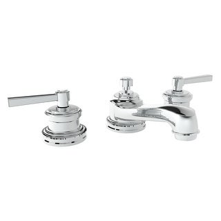 Newport Brass 1620  Miro Double Handle Widespread Lavatory Faucet with Metal Lever Handles