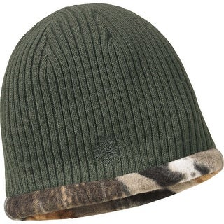 Legendary Whitetails Men's Trophy Buck Reversible Knit Camo Hat