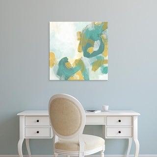 Easy Art Prints June Erica Vess's 'Pivot IV' Premium Canvas Art