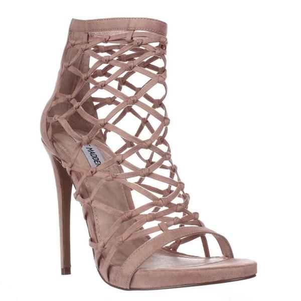 Steve Madden Ursula Caged Sandals, Blush